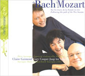 de Bach  Mozart, following the path of the trio sonata by Claire Guimond, Gary Cooper and Jaap ter Linden