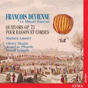 DEVIENNE - Le Mozart français : Quartets Op. 73, for bassoon, violin, viola, and cello