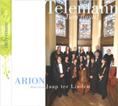 Telemann - Tutti Flauti by Arion Baroque Orchestra with Jaap ter Linden