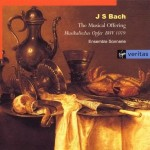 Bach musical offering, Monica Huggett with Sonnerie
