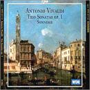 Vivaldi trio sonatas Op. 1, Monica Huggett with Sonnerie
