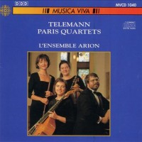 TELEMANN - Paris Quartets (4 to 6) by Arion ensemble